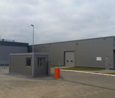 Hala produkcyjno-magazynowa oraz budynek biurowo-socjalny BAKPOL S.C.